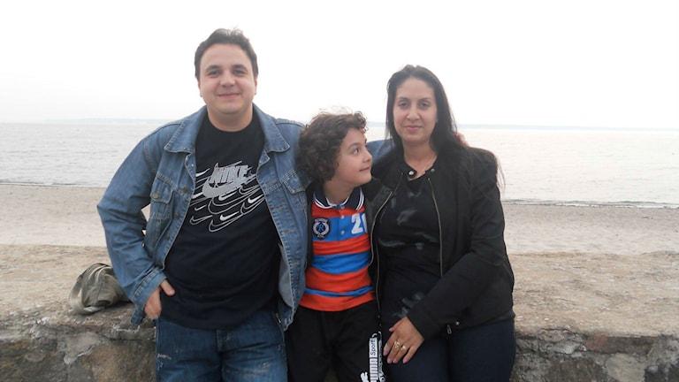 O Nesat thaj leski familja. Foto: Privatno