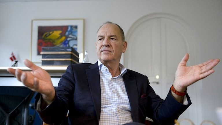 Bo Jansson, ordförande för Lärarnas riksförbund Foto Bertil Ericson / TT