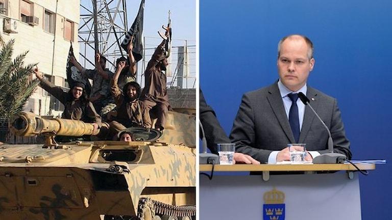 Justitieminister Morgan Johansson (S).Foto: AP/Bertil Ericson/TT.