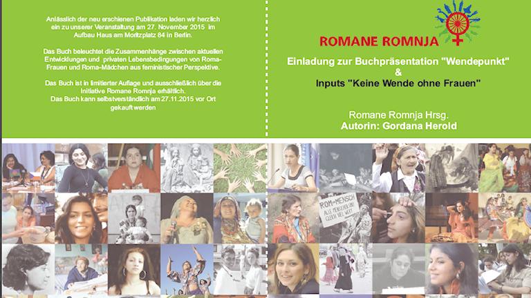"""Nevi knjiga e romen romnajge """"Wendepunkt"""""""