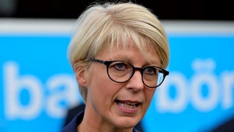 Moderaternas Elisabeth Svantesson. Foto: Henrik Montgomery/TT.