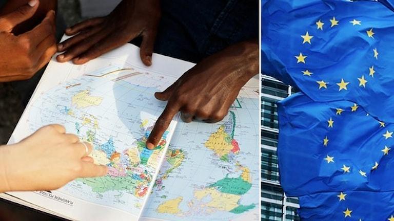 Schengen kontrakto ando EU