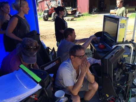 Kana filmulinas o kino Sophelikoptern, Foto: Veli Brijani/SverigesRadio