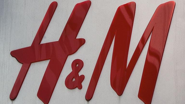 H&M:s logotyp. FOTO: BERTIL ERICSON/TT