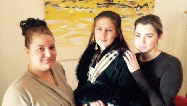 Ando foto foto si e Soraya B, Samira B thaj e Elisabeth I ando kurso ando Stockholmo.