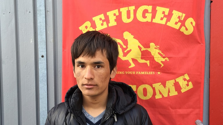 Asylsökande Foto: Daniel Kihlström/TT