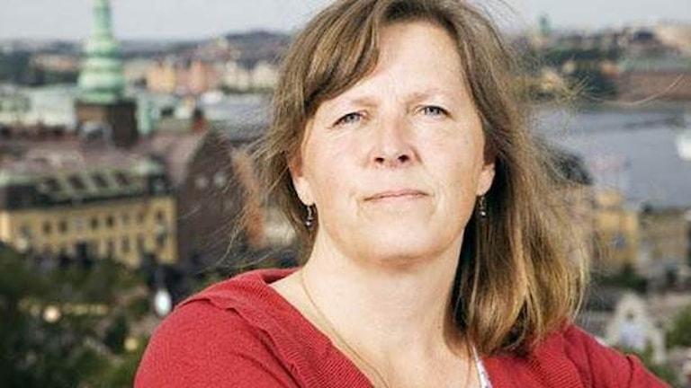Maria Persson-Löfgren, Sveriges Radios Moskvakorrespondent.