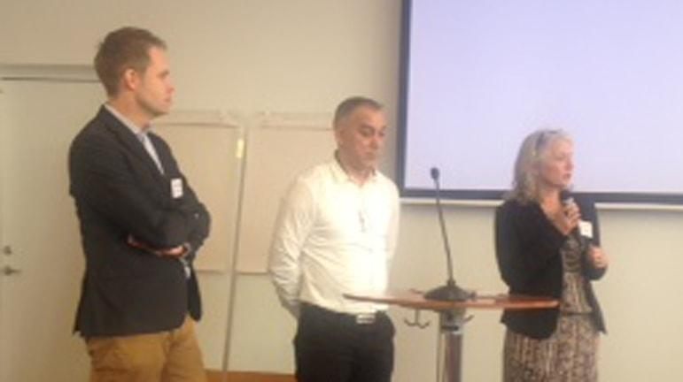 Af kedipe pa romen mediatoria ando kedipe ano Stockholmo. Foto: SR/RadioRomao Margaretha Balok.