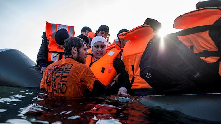 Flyktningar Foto:Manu Brabo