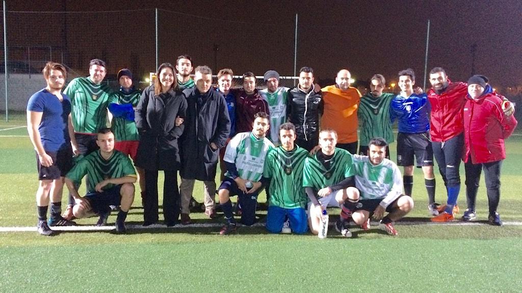 Romani people Football team
