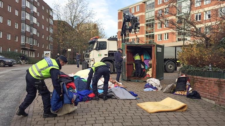 Policia khidel materatsura khatar EU-migranter