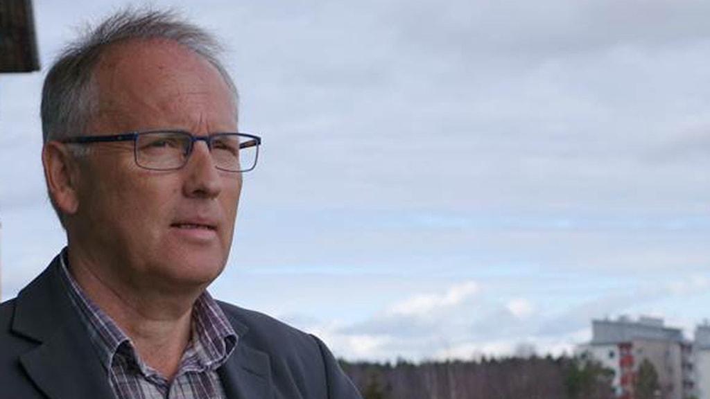 Daniel Lindmark, redaktör för kyrkans vitbok om samer. Foto: David Rydenfalk, SR Sameradion & SVT Sápmi
