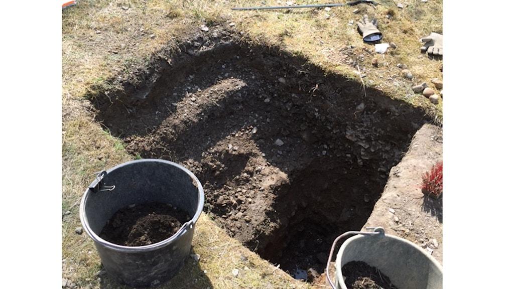 arkeologisk utgrävning