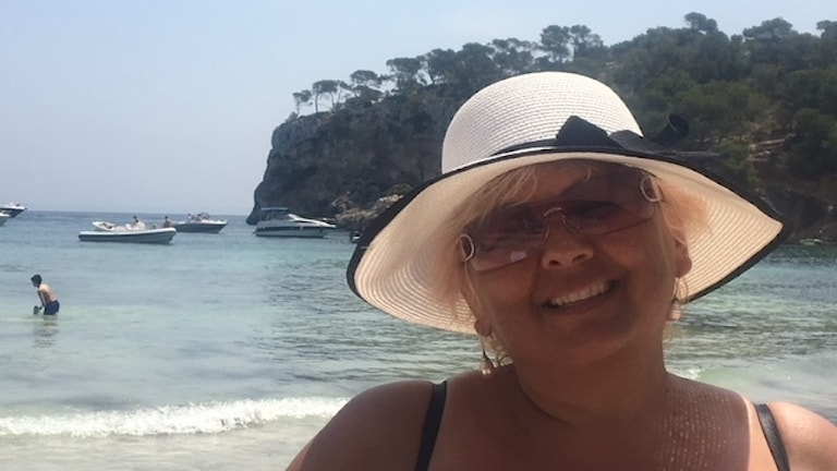 Maria Szabo sas andi Mallorca thaj gade phenda sar voj hachardape.
