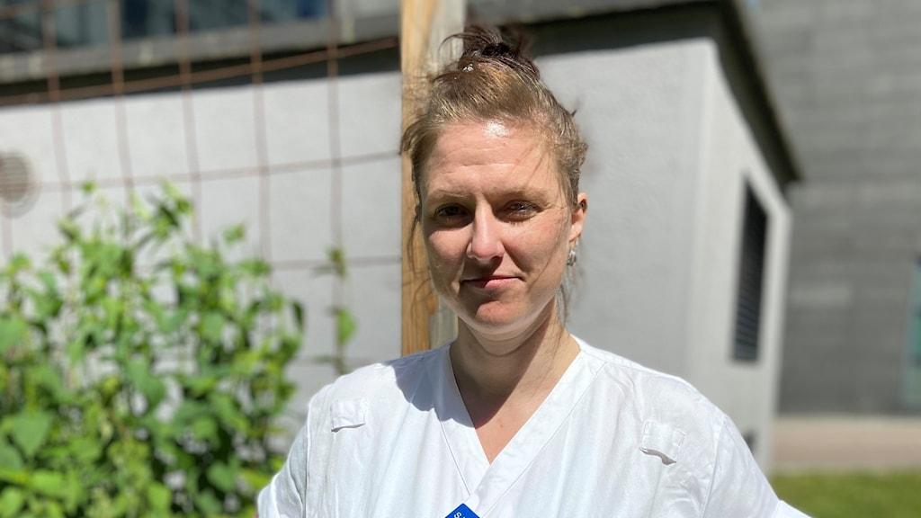 Sandra Winkler, sjuksköterska på häktet i Göteborg