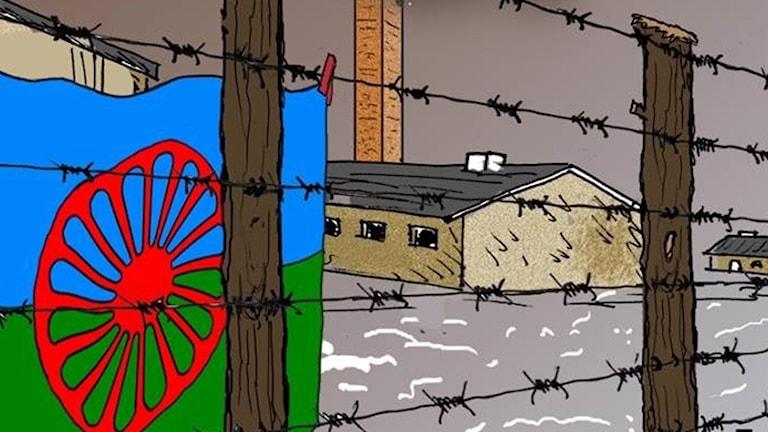 E rom vorbin sar sas ando logori telal o holocaost