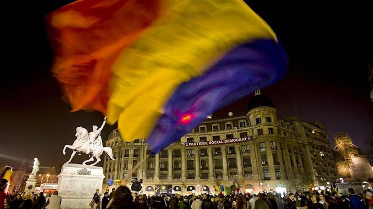 Rumänien. Foto: Vadim Ghirda/TT.