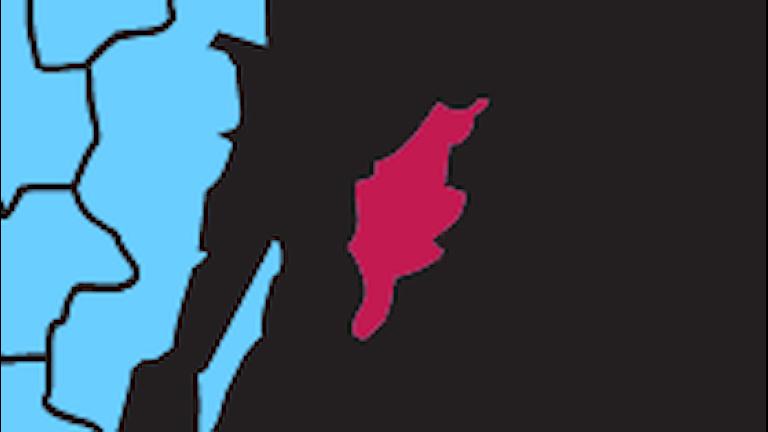 Karta P4 Gotland