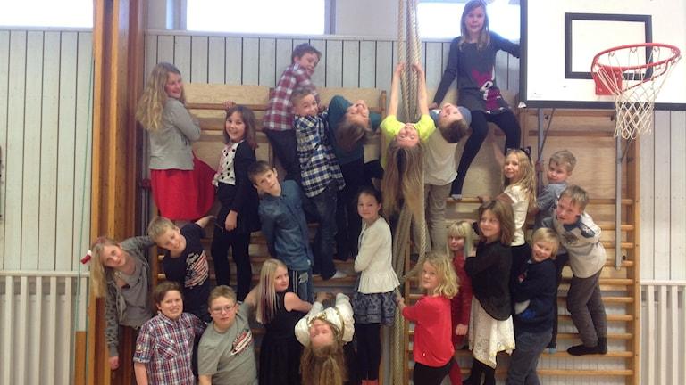 Kyrkskolan, Gangsingarna 5A , Gagnef