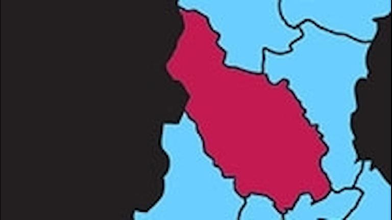 Karta P4 Dalarna