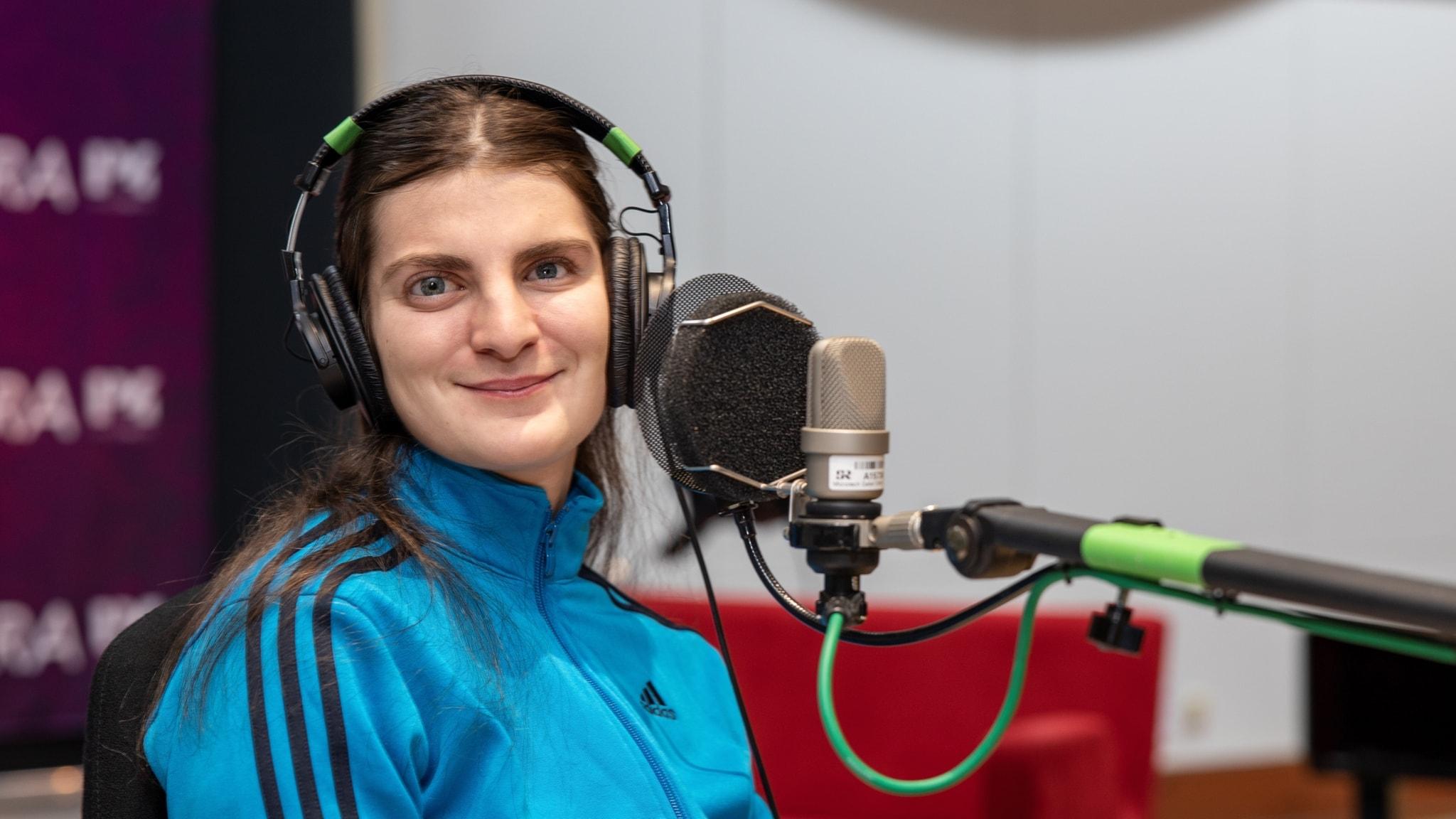 Mirjana Krisanovic förlorade synen vid 10 - nu är hon filmskapare