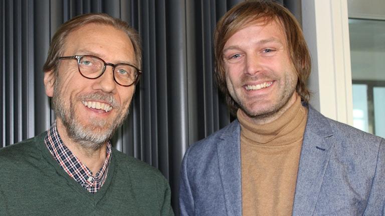 Erik Blix och Jonas Holmberg.