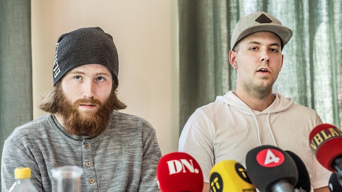 Robin Dahlén och Christian Karlsson