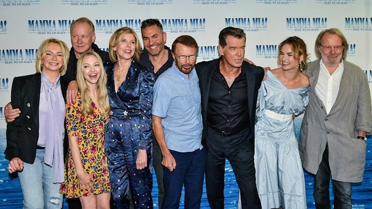 Nästa fredag är det premiär för Mamma Mia - Here we go again.