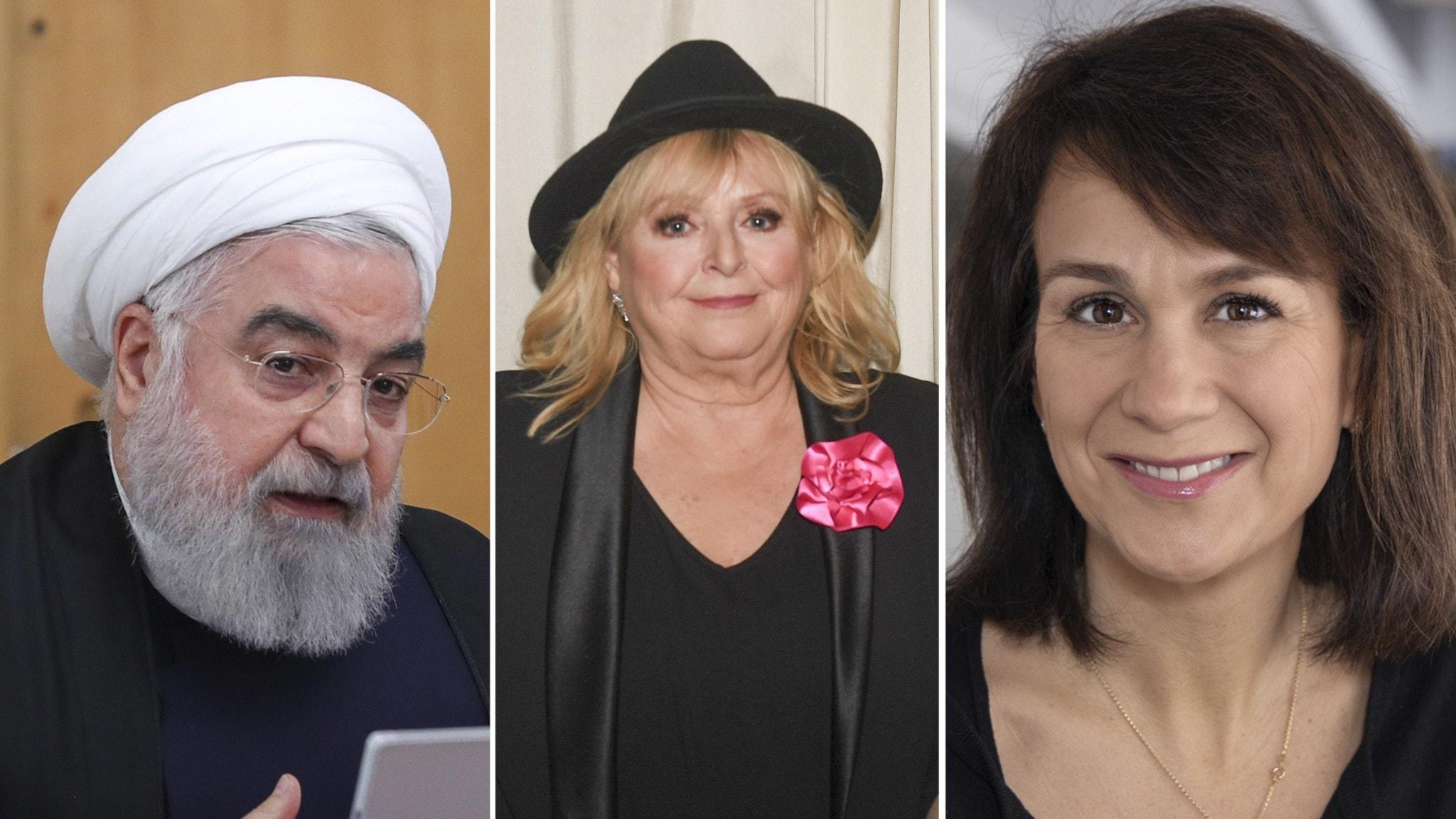 Iran erkänner att de sköt ner ukrainska flygplanet, Hallå där Kikki Danielsson