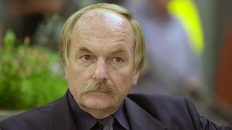 Tommy Lindström. Foto: SVT/Sveriges radio Bildarkiv