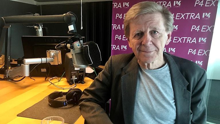 Dagens gäst Claes Eriksson, aktuell med ny föreställning