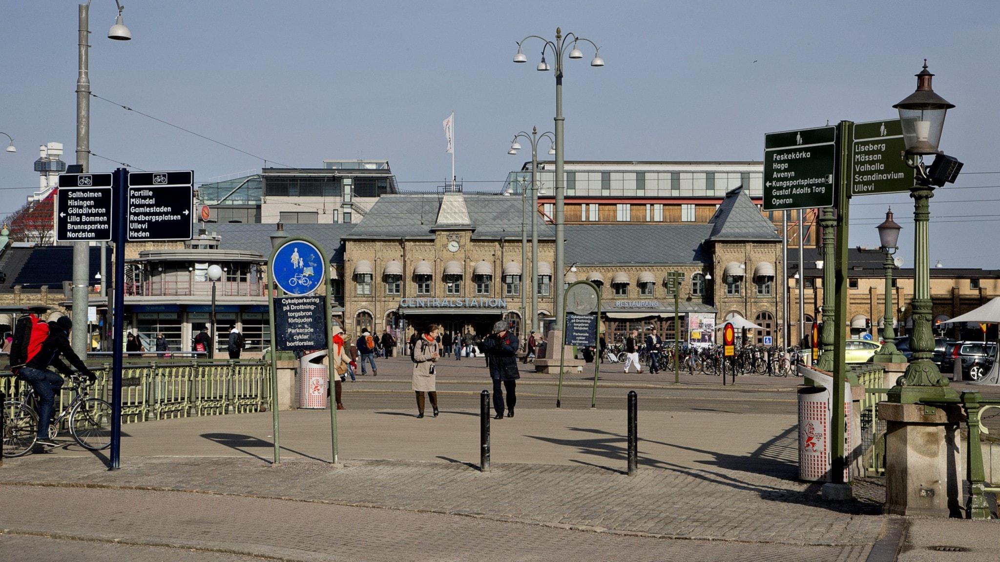 centralstation göteborg, drottningtorget
