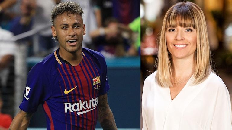 Neymar & Johanna Frändén.
