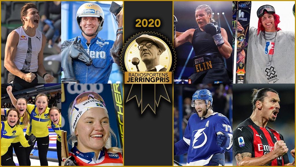Kandidaterna till Jerringspriset 2020.