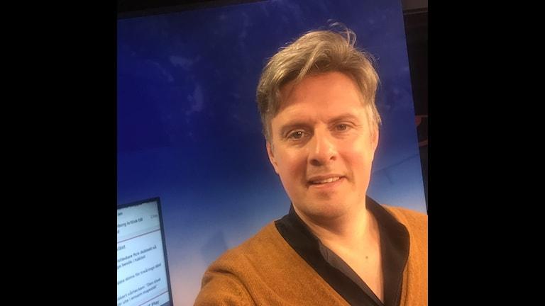 Selfie på Henrik Kruusval