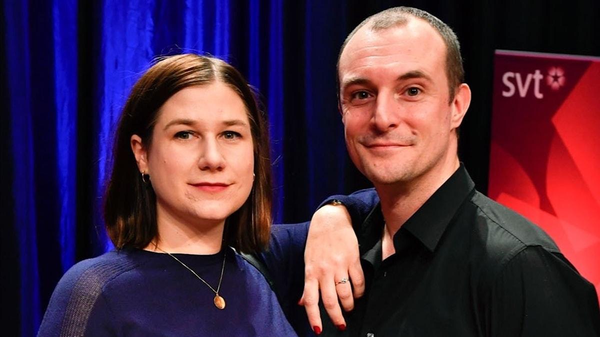 Kristin Lundell och Johan Hilton.
