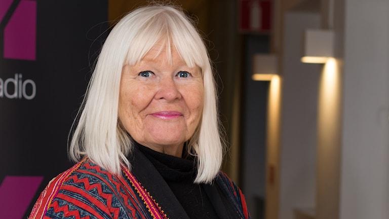 Marta Cullberg Weston. Foto: Åsa Stöckel/Sverige Radio.