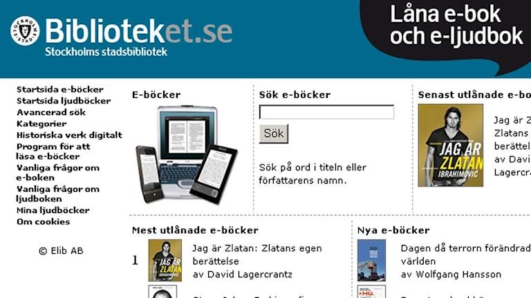 låna böcker gratis på nätet
