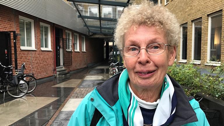 Kristina Sandström, ordförande Vellinge demensförening.