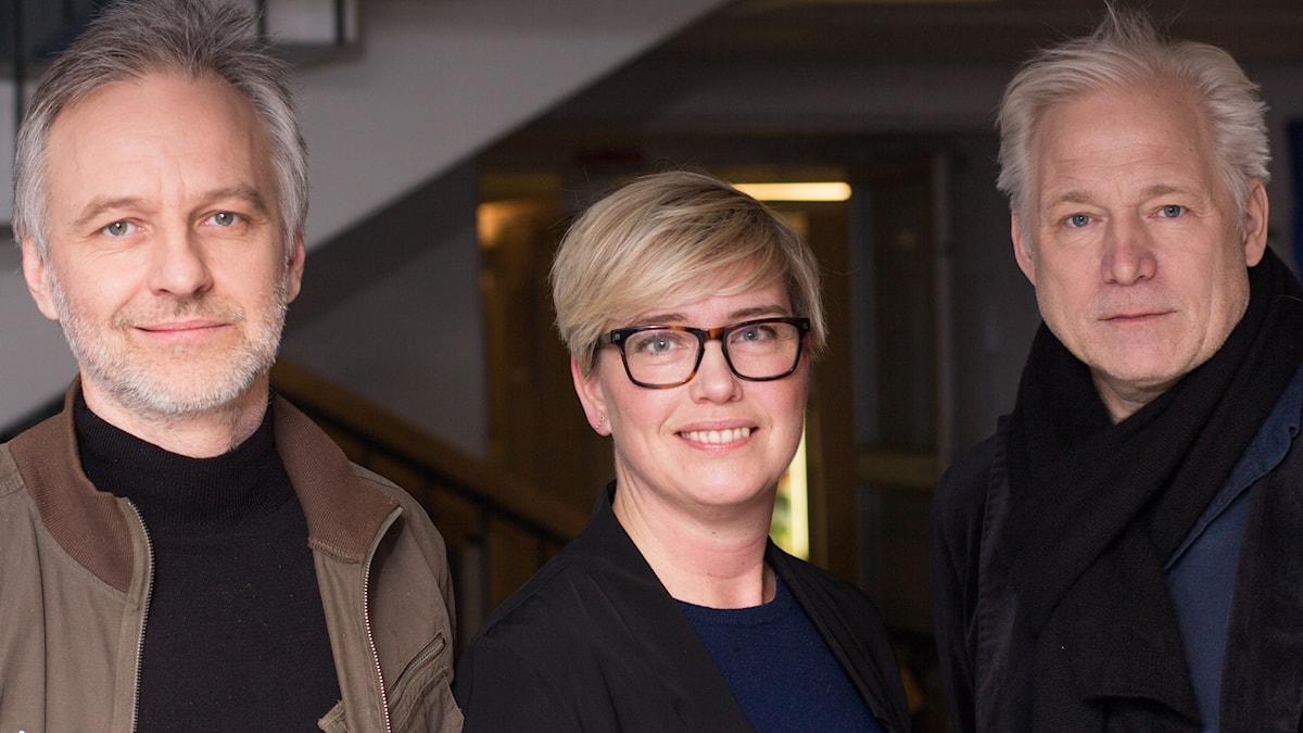 Björn Kjellman, Ylva Lilja och Hannes Holm