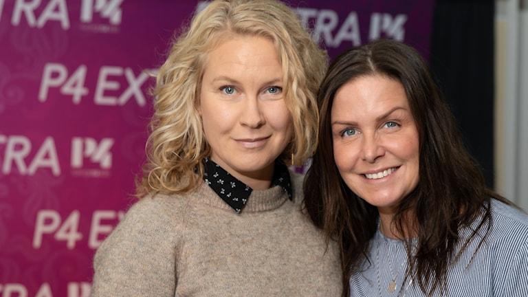 Eva Mellander och Titti Schultz