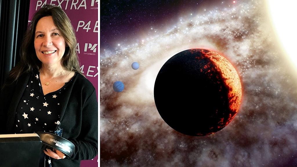 Rymd-Maria och exoplaneten med galaxens bästa utsikt.