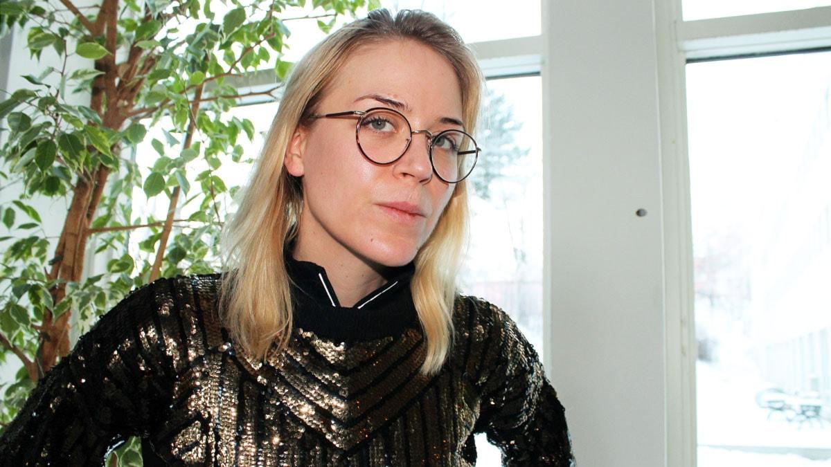 Frida Hyvönen. Foto: Ronnie Ritterland / Sveriges Radio