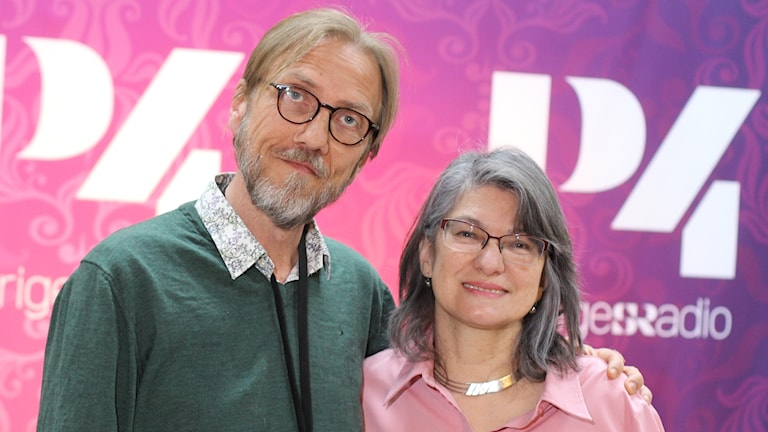 Liria Ortiz och Erik Blix