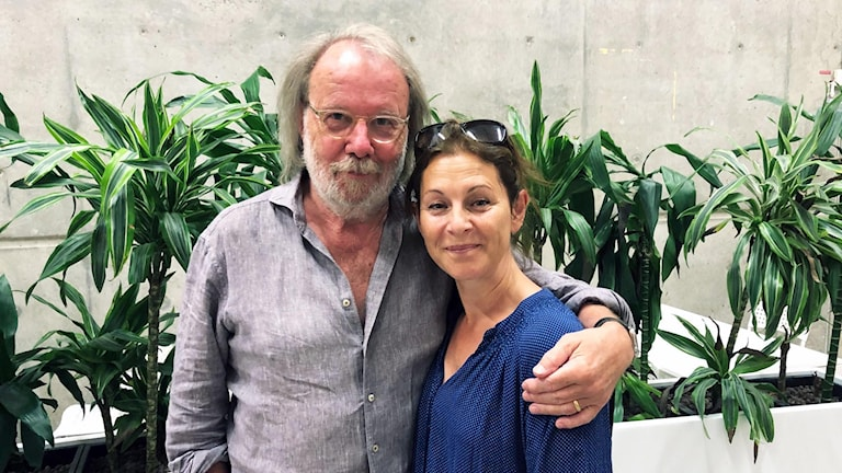 Benny Andersson och Helen Sjöholm.