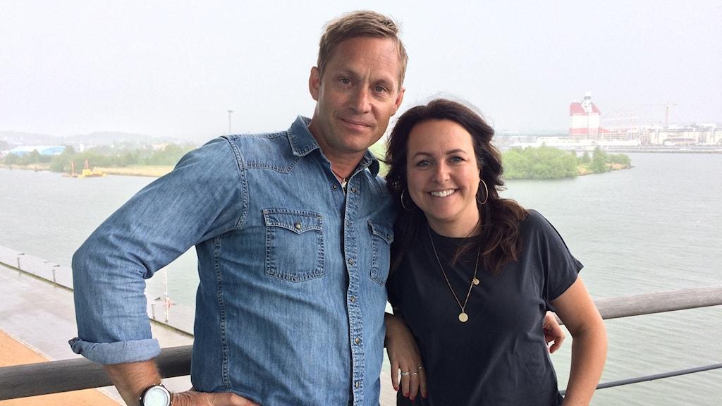 Joakim Odelberg och Sarit Monastyrski.
