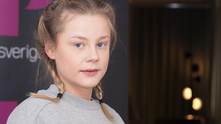 Molly Nutley. Foto: Åsa Stöckel/Sveriges Radio