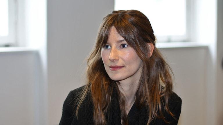 Sara Zacharias. Foto: Åsa Stöckel/Sveriges Radio.