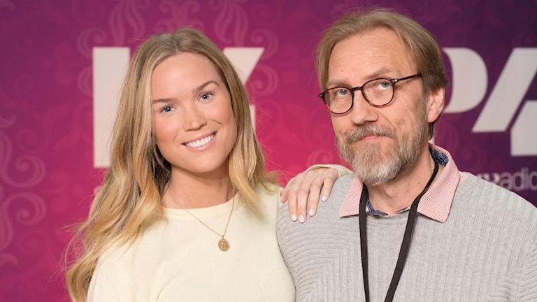 Marie Serneholt och Erik Blix