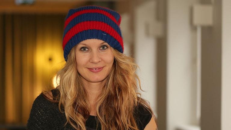 Pernilla Andersson. Foto: Åsa Stöckel/Sveriges Radio.